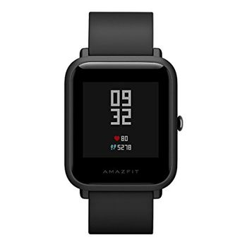 "Xiaomi ""Amazfit Bip"" Onyx Black, 1.28"" Touch Display, Heart Rate, Steps, Calories, Sleeping Quality Tracking, Smart Alarm, Distance Display, Average Daily Steps, Time, Weather, Accept incoming calls, Notifications, Operating time 30days, IP68"