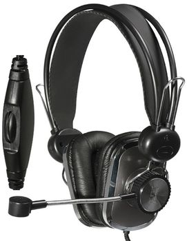 SVEN AP-600, Headphones with microphone, Volume control, SVEN PNC passive noise cancelling system, 2.2m, Black