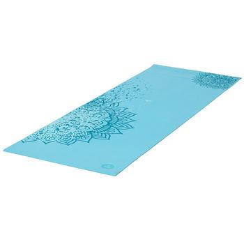 Коврик для йоги LeelaTwo Tone BLUE CURACOA -4.5мм