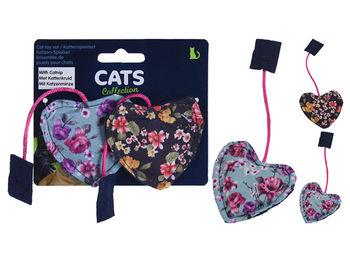 "Игрушки для кошек Cats ""Сердце"" 2шт, 12X10сm"