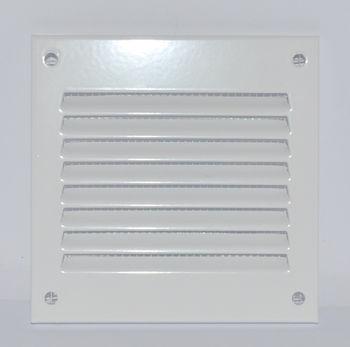 купить Решетка металлическая 100 x 100mm (белая) MR1010 Europlast в Кишинёве