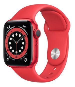 Apple Watch Series 6 GPS, 44mm Red Aluminum Case