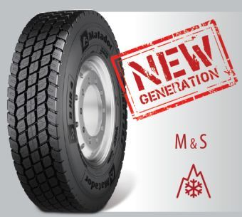 купить 315/80 R 22.5 D HR-4 Matador Continental Rubber в Кишинёве