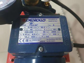 cumpără Hydroafresh PEDROLLO PKm60/24CL 0.37kW 8m în Chișinău