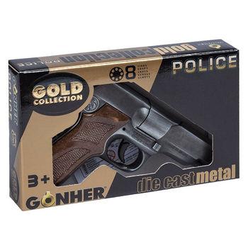 Пистолет полицейский (8 зарядный), код 44075