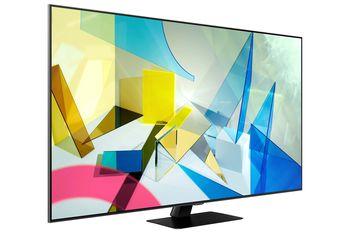 "55"" LED TV Samsung QE55Q80TAUXUA, Silver"