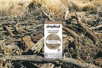 SIMPLICOL Intensiv - Safari-Khaki, Vopsea pentru haine si textile in masina de spalat, Safari-Khaki