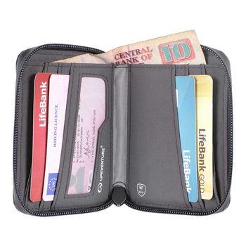 купить Кошелек двойной Lifeventure Bi-Fold RFID laminated zip, 6872x в Кишинёве