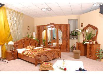 """Спальня """" Олимпия """" с 6 дверями, орех"""