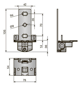 Suport ATLAS 3 mm INDAUX