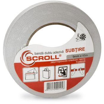 """купить SCROLL """"SUBTIRE"""" Двухсторонняя лента на бумажной (нетканой) основе 0.09 мм в Кишинёве"""