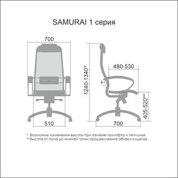 купить SAMURAI Comfort-1.01 black в Кишинёве