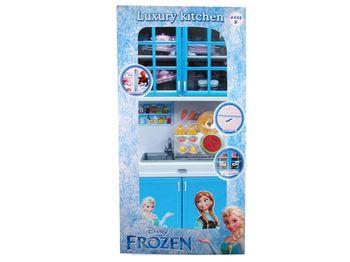 "Set de bucatarie cu spalatorie ""Frozen"" 19X37X10cm"