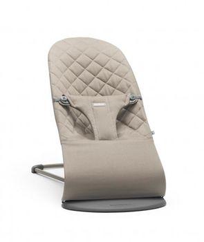 купить Кресло-шезлонг  BabyBjorn Bliss Sand Grey в Кишинёве