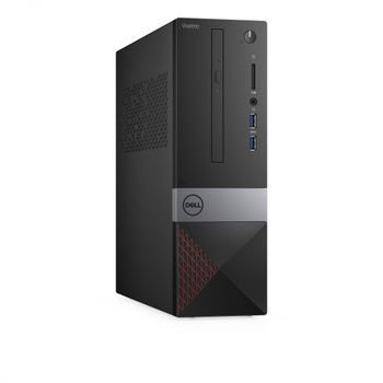 DELL Vostro 3471 SFF (lntel® Core® i5-9400, 4Gb (1x4GB) DDR4 RAM 2666MHz, 1TB 7200RPM, DVDRW, Intel® UHD 630 Graphics, Wi-Fi/BT4.0, 290W PSU, USB Mouse&Keyboard MS116, Ubuntu, Black)
