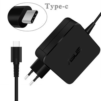 AC Adapter Charger For Asus 19V-3.42A (65W) USB Type-C DC Jack Original