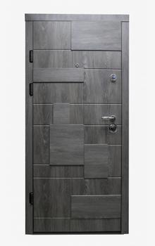 Дверь металлическая Diplomat 601 860x2050x90 мм антрацит