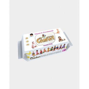 My Comfort детские влажные салфетки 80 шт World Kids