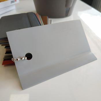 Гибкий ПВХ плинтус WL 50, 138 светло-серый металлик (1х50)