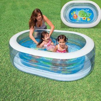 купить Intex Детский надувной бассейн 163 x107 x 46 см, 238 Л в Кишинёве