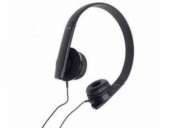 "MAXELL ""HP-MIC"" Black, Headphones with in-line Microphone, Hands free calling features, 1.2 m"