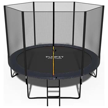 Батут с защитной сеткой D=2,52m