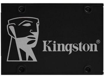 2,5-дюймовый твердотельный накопитель SATA 256 ГБ Kingston KC600 [R / W: 550/500 МБ / с, 90/80 000 операций ввода-вывода в секунду, SM2259, 3D NAND TLC]