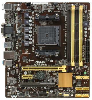 {u'ru': u'MB S FM2 ASUS A78M-A, AMD A78, Dual 4xDDR3-2400, APU AMD graphics, DVI, HDMI, 1x PCIe X16, 6xSATA3(6Gb/s), RAID, 1x PCIe X1, 1x PCI, ALC887 7.1ch HDA, GigaBit LAN, 4xUSB3.0(5Gb/s), mATX', u'ro': u'MB S FM2 ASUS A78M-A, AMD A78, Dual 4xDDR3-2400, APU AMD graphics, DVI, HDMI, 1x PCIe X16, 6xSATA3(6Gb/s), RAID, 1x PCIe X1, 1x PCI, ALC887 7.1ch HDA, GigaBit LAN, 4xUSB3.0(5Gb/s), mATX'}
