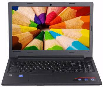 "Lenovo IdeaPad 110-15IBR Black 15.6"" HD (Intel® Celeron® Dual Core N3060 up to 2.48GHz (Braswell), 4Gb DDR3 RAM, 500GB HDD, Intel® HD Graphics 400, w/o DVD, CardReader, WiFi-N/BT4.0, 0.3M WebCam, 3cell, RUS, W10HE64, 2.3kg)"