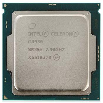 Intel® Celeron® Dual-Core G3930, S1151, 2.9GHz, 2MB L2, Intel® HD Graphics 610, 14nm 51W, tray
