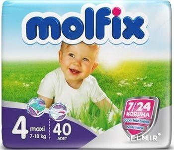 cumpără Molfix Scutece Maxi 4, 7-18 kg, 40 buc. în Chișinău