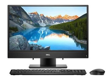 "AIl-in-One PC - 23.8"" DELL Inspiron 3477 FHD IPS, Intel® Core® i3-7130U (Dual Core, 2.70GHz, 3MB), 4GB DDR4 RAM, 1TB HDD, no ODD, Intel® HD Graphics 620, HD Webcam, Fixed Stand, Wi-Fi-AC/BT4.0, KM636 Wireless KB&MS, Ubuntu, Black"