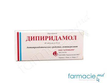 купить Дипиридамол, табл. 25 мг N40 (BHFZ) в Кишинёве