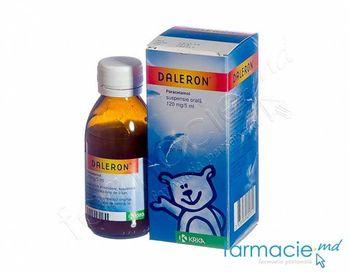 купить Daleron susp. orala 120 mg/5 ml в Кишинёве