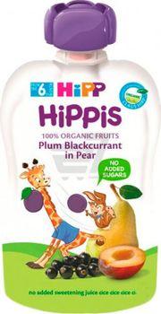 купить Hipp Hippis пюре сюрприз из слив, груша и черная смородина, 6+мес. 100г в Кишинёве