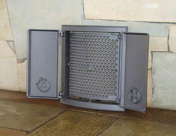 купить Дверца чугунная глухая двустворчатая FIN в Кишинёве