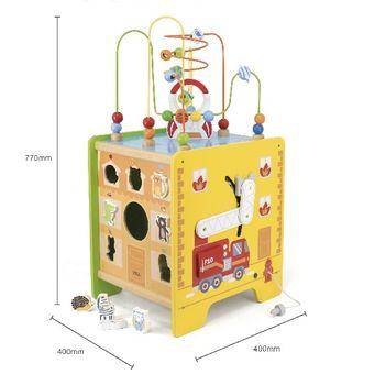 купить Viga Лабиринт 5 в 1 Toy Box в Кишинёве