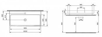 Раковина Scala Arch 100cm