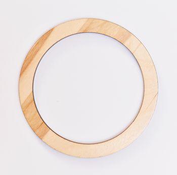 Mâner din lemn, natural / 15 cm