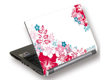 "G-Cube A4-GSA-15D Laptop skin, ""Aloha Day"" for 15.4"", 14"", and 13"" wide (skin pentru laptop/наклейка на ноутбук)"