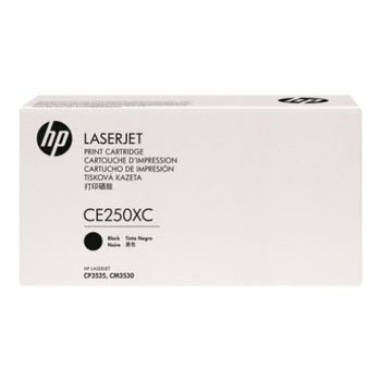 HP Black LaserJet CM3530/CP3525 HC Print Cartridge, with ColorSphere  Toner (5K pages)