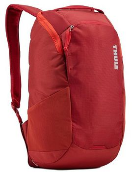 "13"" NB Backpack - THULE EnRoute 14L, Red, Safe-zone, 840D nylon, 330D nylon mini ripstop, Dimensions: 27 x 20 x 44 cm, Weight 0.73 kg, Volume 14L"