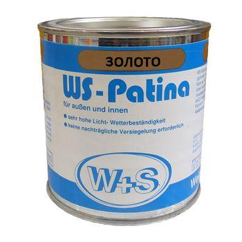 WS-Plast Краска WS-Patina Золотистая 0.25л