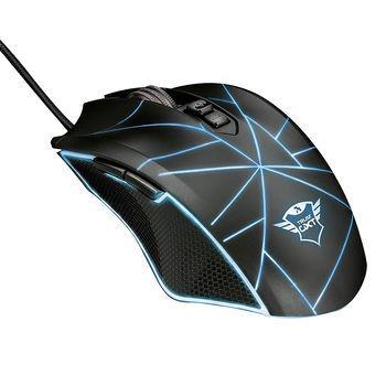 Мышь игровая Trust Gaming GXT 160 Ture RGB Mouse, 250 - 4000 dpi, 7 Programmable button, RGB lighting, 1,7 m USB, Black