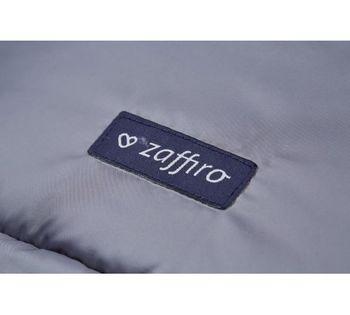 Конверт прогулочный из натуральной шерсти Womar Zaffiro Nego Pastel Grey