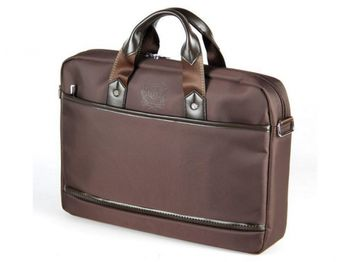 "CONTINENT NB bag 15.6"" - CC-045 Brown, Top Loading"