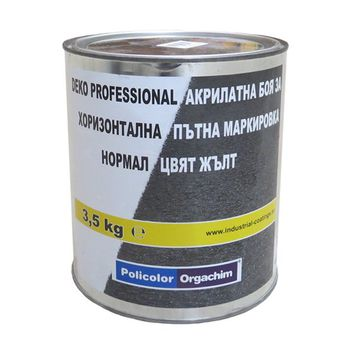 Оргахим Краска Deko Professional Normal Желтая 3.5кг