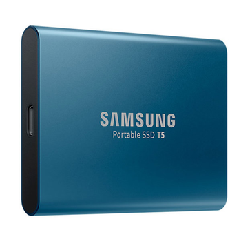 """купить 500GB (USB3.1) Samsung Portable SSD T5 """"MU-PA500B/WW"""", Blue (USB3.1/Type-C, R/W:540MB/s, 3D V-NAND) в Кишинёве"""