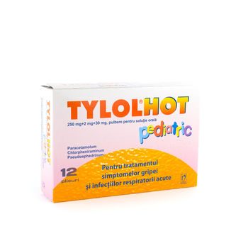 cumpără Tylol Hot p/u copii gran.eff. N12 OTC în Chișinău