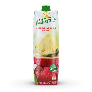 Naturalis нектар яблоко-ананас 1 Л